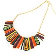 moda colares cor aleatória