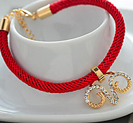 Valentine'S Day Red Line Transfer Kaiyun Bracelet Hollow Out The Sheep Head