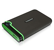 Transcend 512 GB USB 3.0 External Hard Drive - Military Drop Standards (TS512TSJ25M3)