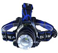 T6 Headlight Glare Night Fishing Lamp Fishing Lamp 10w Zoom