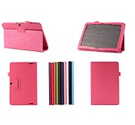 10.1 Inch Two Folding Pattern Lichee PU Leather Case for Acer Iconia A3-A20(Assorted Colors)