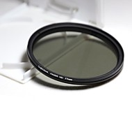 Lightdow 77MM Slim ND Filters Fader Variable Adjustable ND2 to ND400 ND Neutral Density Filter Optical Glass