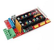 Impressora rampas controlador bordo 1.4 escudo 3d para 3d impressora