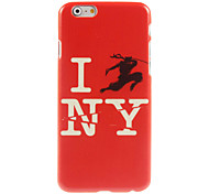 I Love New York Design Hard Case for iPhone 6