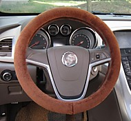 LEBOSH®high-grade Steering Wheel Covers Generic Wool 5 Color for Choose 37-38CM