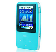 "megafeis® e18 4gb 1.8 ""polegadas tela LCD de mídia mp4 protable mp3 player de música skyblue"
