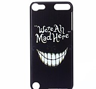 Black Teeth Pattern Hard Case for iPod touch 5