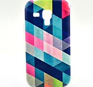 For Samsung Galaxy Case Pattern Case Back Cover Case Geometric Pattern TPU Samsung Trend Duos