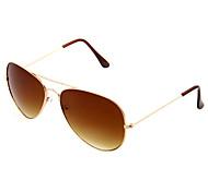 Óculos de Sol Homens's Clássico / Retro / Vintage / Esportivo / Aviador Aviador Óculos de Sol -Rim completa