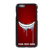 Personalized Phone Case - Tooth Design Metal Case for iPhone 6