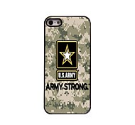 US ARMY Design Aluminum Hard Case for iPhone 5/5S