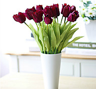 Beautiful PU Tulip,3Pcs/set