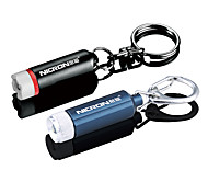 Mini LED Flashlight Keychain Waterproof(3xLR41/4xLR41,Random Color)