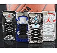 Air Jordan Sneakers Design Part III Tpu Soft Case for iPhone 5/5S(Assorted Colors)