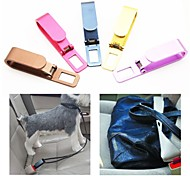 LEBOSH®Car Seat Belts Guard Against Theft Clasp Aluminum Alloy (Random Color)1PCS