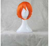 Gekkan Shojo Monthly Girls' Nozaki kun Sakura Chiyo Orange Yukata Ver. Braid styled Cosplay Wig