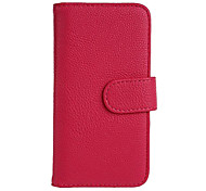 Luxury PU Leather Flip Case Cover with Card Slot And Stand for LG  Series III L90