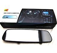 LEBOSH®2.5 Inch Car DVR 3.0 Mega CMOS 2 Infrared LEDs 90 Degree Black