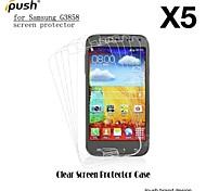 alta transparencia mate Protector de pantalla para Samsung Galaxy Beam 2 g3858 (5 piezas)