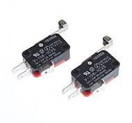 micro interruptor off-on para el bricolaje Electrónica (2pcs)
