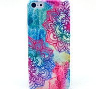 Beautiful Mandala Flower Pattern Hard Cover Case for iPhone 5C
