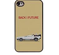 Zurück in die Zukunft Design Aluminium-Hülle für das iPhone 4 / 4s