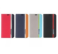 For Nokia Case with Stand / Flip Case Full Body Case Solid Color Hard PU Leather Nokia