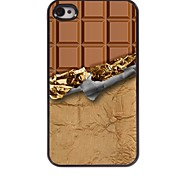 Chocolate Style Aluminum Hard Case for iPhone 4/4S