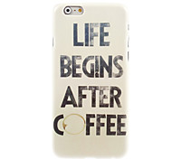 Coffee Design Hard Case for iPhone 6