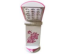 220vca blanco 18LED interruptor plegable perilla / regulable plug-in de la lámpara de tabla del escritorio