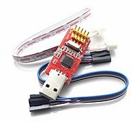 Санкт-Link / v2 ул ссылку stlink STM8 STM32 эмулятор Downloader - красный + серебро + желтый
