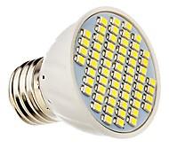 E26/E27 Spot LED 60 SMD 3528 360 lm Blanc Chaud Blanc Froid Décorative DC 12 AC 12 AC 24 DC 24 V