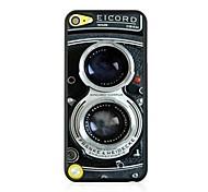 couro câmera caso difícil padrão das veias retro para iPod Touch 5