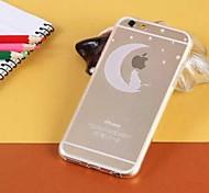 padrão criativo estojo padrão TPU transparente para iphone 6
