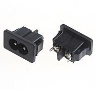 diy 2-polig 5A / 250V Netzsteckdose (2 Stück)