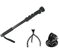 HY-188 Self Timer Pole Kit (Self Timer Pole-Black, a small tripod, GOPRO adapter)