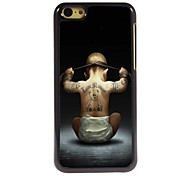 The Child Back Design Aluminum Hard Case for iPhone 5C