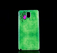 Voor Samsung Galaxy Note Glow in the dark / Patroon hoesje Achterkantje hoesje Hart PC Samsung Note 3