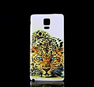 étui rigide motif léopard pour Samsung Galaxy Note 4