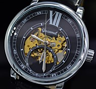 Men's Watch Automatic Mechanical Skull Skeleton Dress Watches Fashion Leather Sport Wrist Watch