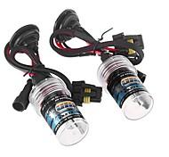 2pcs h9 35w 6000k xenón HID bombilla de repuesto kit de conversión de luz lámparas de luz de la lámpara cabeza del coche