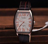 Men's  Classic Business Leather Strap Watch  High Quality Japanese Quartz Movement Watches