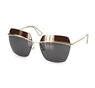 100% UV400 Women's Square Plastic Fashion Sunglasses