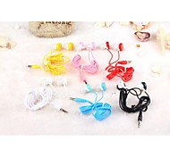 GOFO Lemon Shape 3.5mm Earphone with Microphone for iPhone 6 iPhone 6 Plus/5S/5/4S/4 (Random Colors)