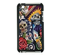 Abstract the Skeleton Leather Vein Pattern Hard Case for iPod touch 4