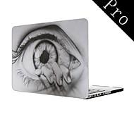 """das Auge Zeichnung Design Ganzkörper-Kunststoffschutztasche für MacBook Pro 13 """"/ 15"""" (Nicht-Netzhaut)"""
