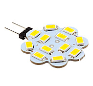 10 pcs G4 3W 12 SMD 5630 270 LM Warm White / Cool White LED Bi-pin Lights DC 12 V