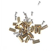 Two-way 10mm Brass DIY Binding Post Terminals for (For Arduino)(50 PCS)