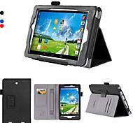 cuero dengpin pu cubierta de la caja de la tableta de 8 pulgadas con soporte titular mano y ranura para tarjetas de Iconia Tab acer 8 w w1-810