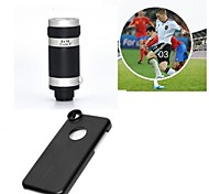 Apexel Telescope 8X Zoom Telephoto Long Focal Camera Lens with Case for iPhone 5C